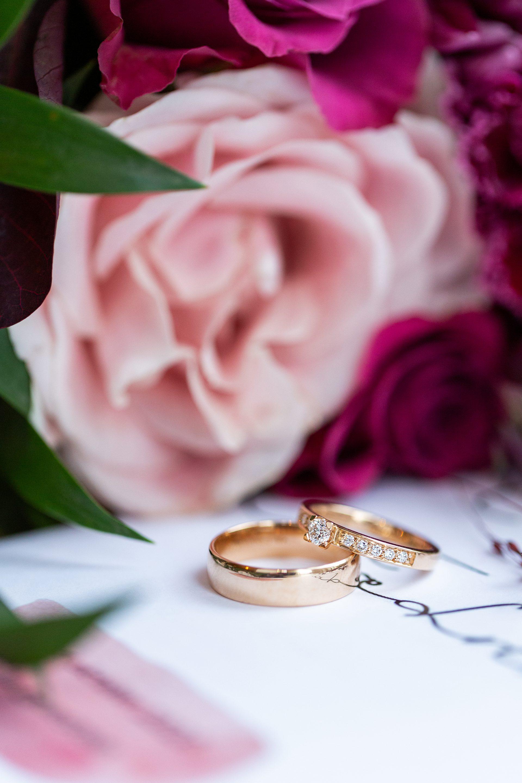 Bröllopsfotografi ringar